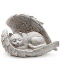 Feline Sleeping with Angels