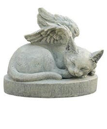 Feline Angel Memorial Stone