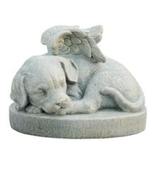 Canine Angel Memorial Stone