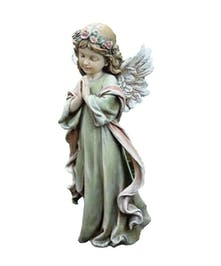 LIttle Girl Praying Statue