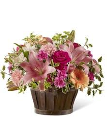 Spring Garden Basket