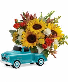 Fresh flowers in a classic.