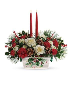 A spectacular holiday arrangement.