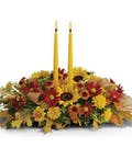 Designers Choice Centerpiece with Candles