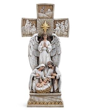 Holy Family Nativity Cross