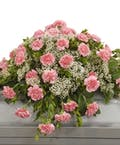 Traditional Carnation Casket Spray