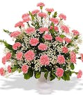 Traditional Carnation Urn Vase