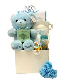 Huggable Welcome for Baby Boy