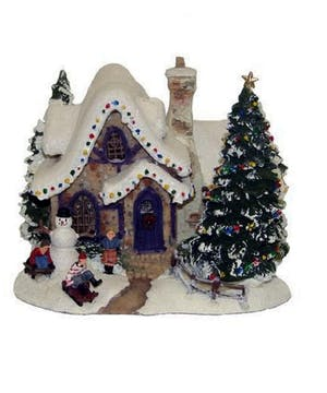 A Thomas Kinkade Holiday Collectible