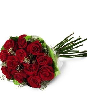 Red Rose Presentation Bouquet
