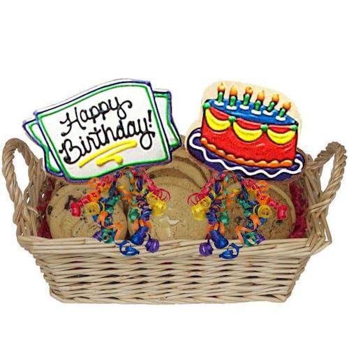 Happy Birthday Cookie Basket