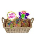 Happy Birthday Cookie Basket