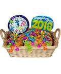 Gourmet New Year Cookie Basket