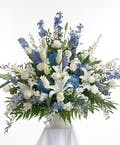 Blue & White Traditional Arrangement