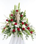 Red & White Angel Bouquet
