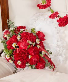 Red Carnation Adornment