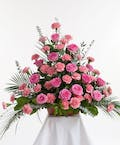 Pink Rose & Carnation Arrangement