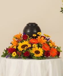 Tuscan Memorial Urn Arrangement