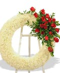Rose & Carnation Wreath