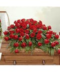 Elegant Rose Casket Spray