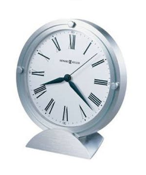 Howard Miller Brushed Aluminum Clock