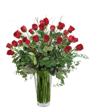 "These phenomenal red roses are the ultimate way to say ""I LOVE YOU"""