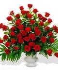 Elegant Rose Urn Vase