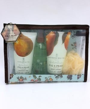 Fig & Pear Scented Bath Set