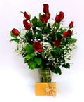 Roses & Godiva Chocolate