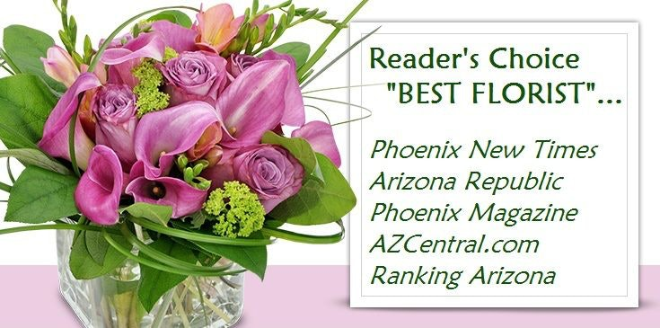 Send flowers flower delivery arizona by phoenix flower shops your voted readers choice quotbest floristquot azcentral arizona republic mightylinksfo