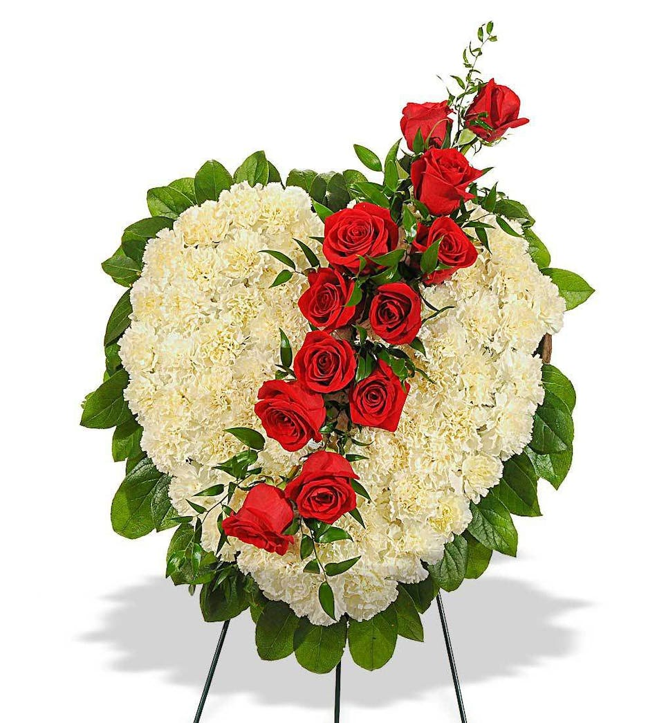 Rose and Carnation Sympathy Tributes delivered by Phoenix Flower ...
