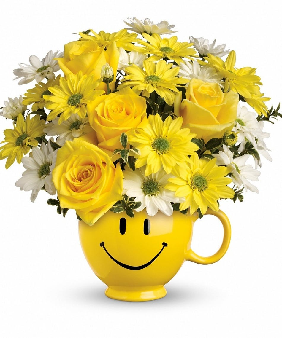 Be Happy Bouquet - Local Florist-Delivery-Phoenix-Scottsdale-AZ