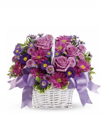 Basket Flowers