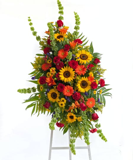 Floral Easel Tributes