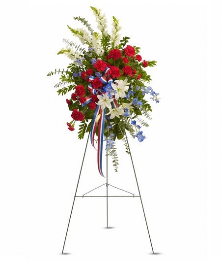 Floral Easel Tributes